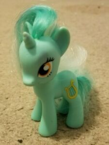 My-Little-Pony-3-034-LYRA-HEARTSTRINGS-Brushable-G4-2010-Figure