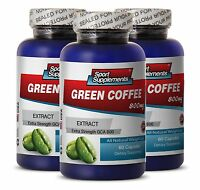 Green Coffee Beans Extract - Green Coffee Gca® 800mg - Fat Burner For Men 3b