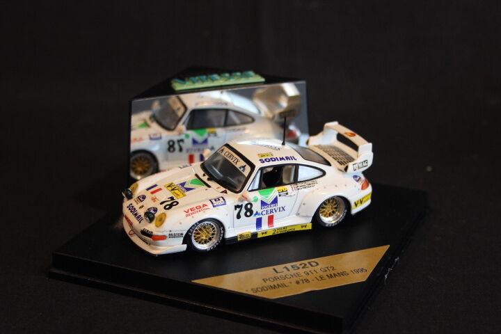 Vitesse Porsche 911 GT2 1995 1 43  78 Veroux   van de Vyver   Ortion LM (HB)