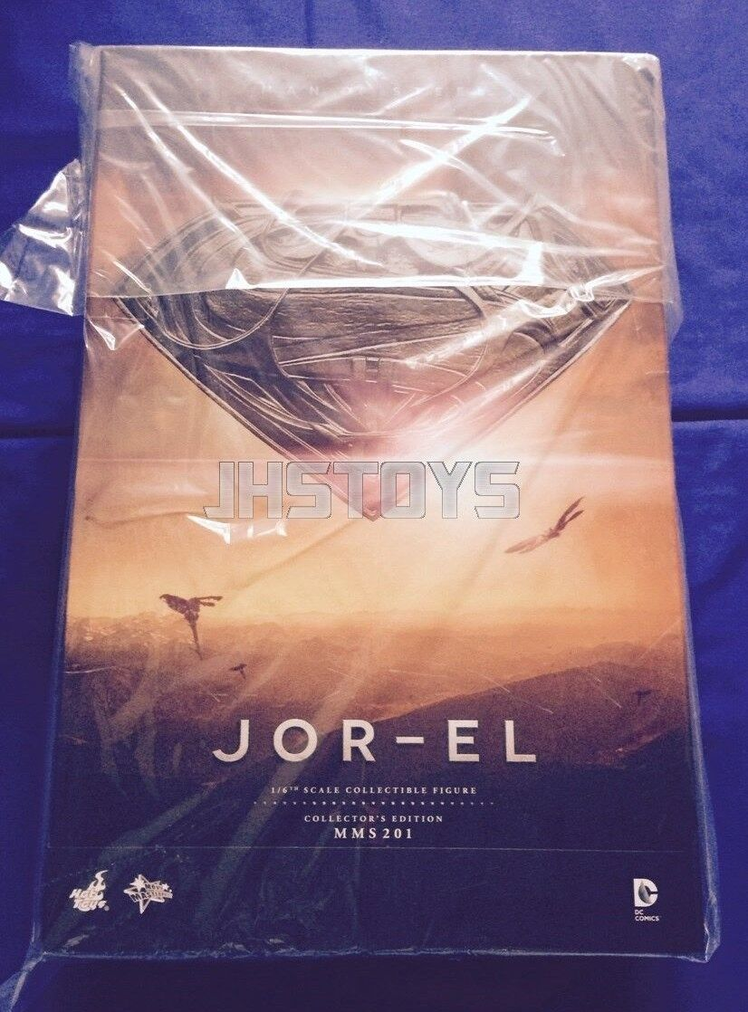Hot Toys 16 Superman Man of Steel Jor-el MMS201