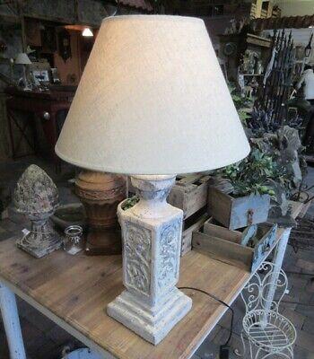 GROSSE LANDHAUS LAMPE TISCHLAMPE LANDHAUSSTIL TISCHLEUCHTE ...
