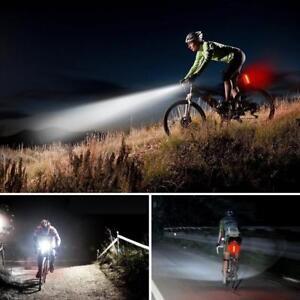 Waterproof-MTB-Bike-USB-Recharge-Front-Handlebar-Light-Rear-Tail-Lights-Warning