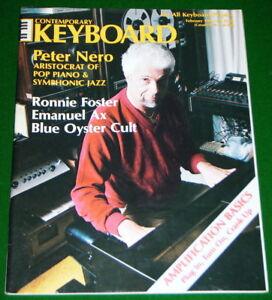 1980-Contemporary-Keyboard-Magazine-PETER-NERO-Solo-Amplification-Basics-V-G