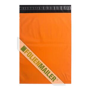 25 Folien Versandtaschen 30 x 40 cm blickdicht Folienbeutel Farbe: Gelb