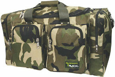 "LARGE CAMO  DUFFELBAG  DUFFEL BAG Multi Pocket 30"" Travel Huge Big"