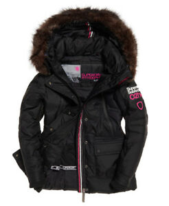 Womens-Superdry-Canadian-Down-Ski-Parka-Jacket-Coat-rrp-195