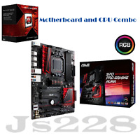 Asus 970 Pro Gaming /aura Motherboard + Amd Fx-8370 Eight-core Cpu Combo Set