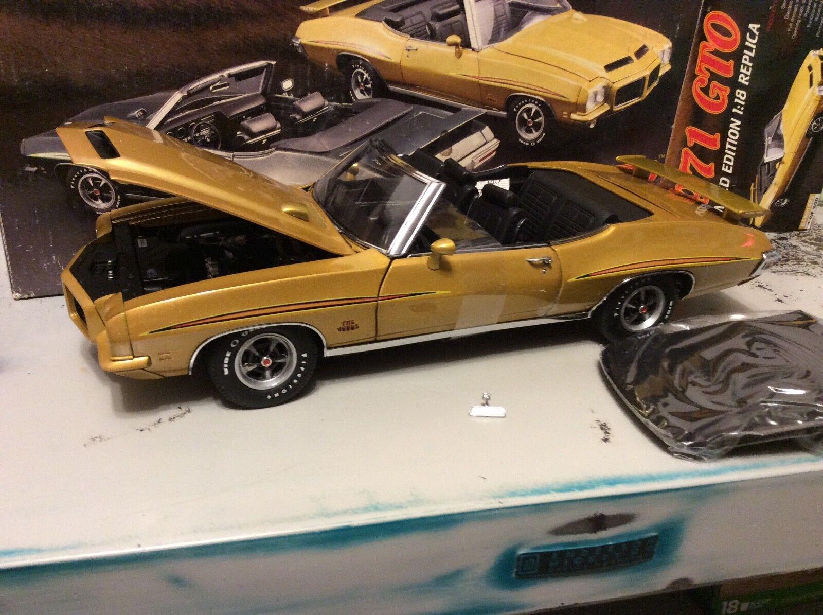 Gmp 1 18 Échelle 1971 Pontiac Gto The  Judge or Convertible 1 de 650  haute qualité et expédition rapide