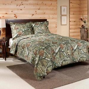 NEW-Mossy-Oak-Infinity-Camo-2-pc-Comforter-Set-Twin
