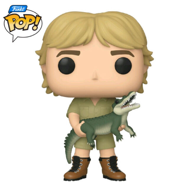 Funko Crocodile Hunter - Steve Irwin Pop! Television Vinyl #921 **FREE DELIVERY*