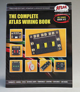 atlas the complete wiring book all scales train o ho n g gauge rh ebay com
