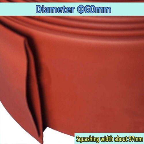 60mm Heatshrink Tube 2:1 Heat Shrink Tubing Wire//Cable Sleeving Wrap Flat W:97mm