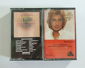 Barry Manilow Cassette Tape Bundle of 2 Tapes (SEE DESCRIPTION FOR TITLES)