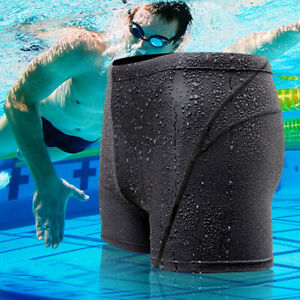 Mens-Quick-Dry-Swim-Shorts-Swimwear-Trunks-Underwear-Swimming-Boxer-Briefs-Pants