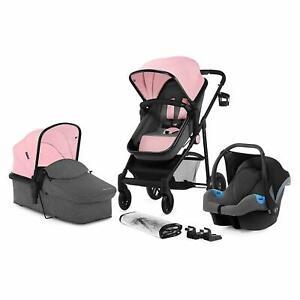 BABY-PUSHCHAIR-STROLLER-CHILD-KIDS-KINDERKRAFT-JULI-3-in-1-BUGGY-PRAM-FOLDING