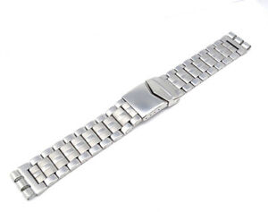 19mm-Montre-Bracelet-en-Acier-Inoxydable-Compatible-pour-Swatch