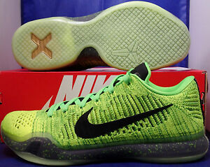 Sz X 802817 Elite 901 Qs Low Nero Grinch 10 Carbone Flyknit Id Kobe Nike Hearted 5qFawPO
