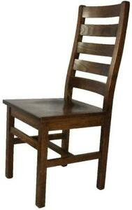 Canadian Handmade Ladder Back Local Wood Dining Chairs Canada Preview