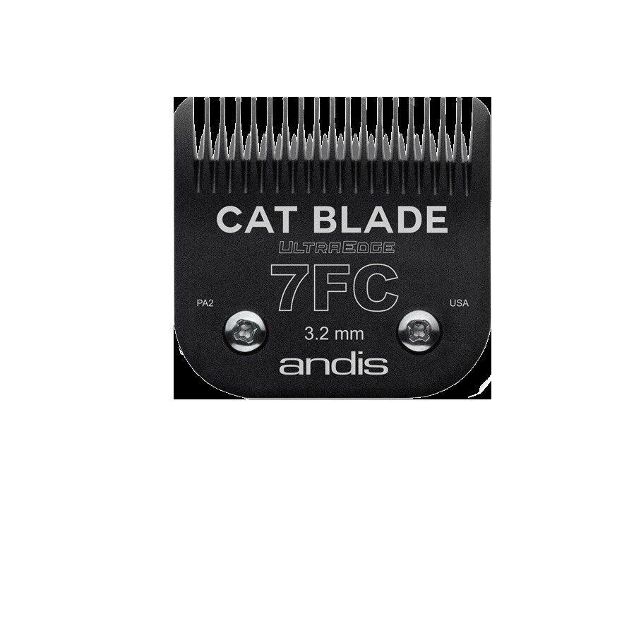 Andis Ultraedge Gato Blade Size 7 Acabado Corte (FC)