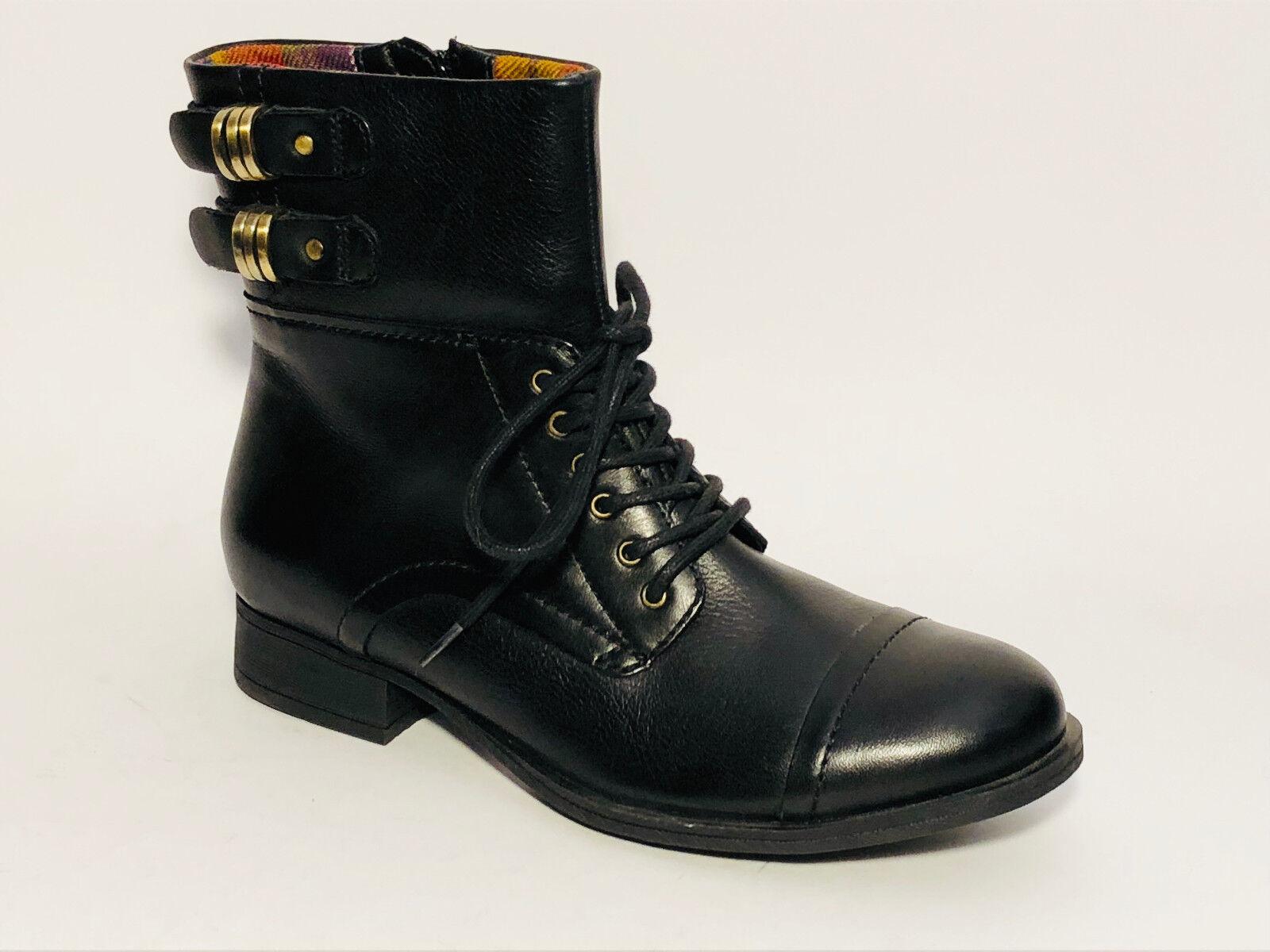 Clarks Schuhe Stiefel  Leder Stiefel Größe 35,5 (UK 3) 3) 3) Schwarz Stiefeletten 66c94e