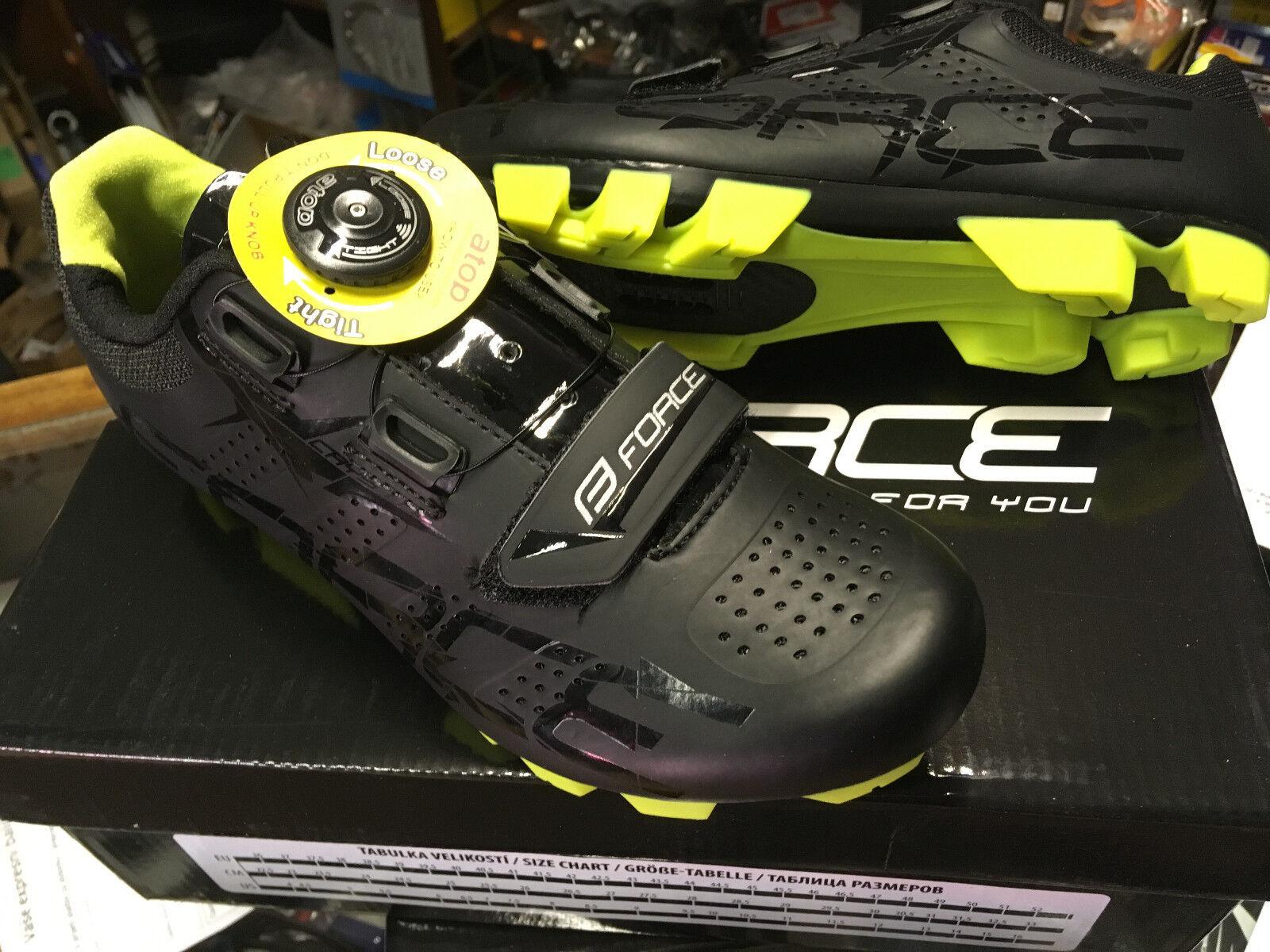 MTB zapatos Force Crystal GR. 36 37,boa, nuevo, novedad