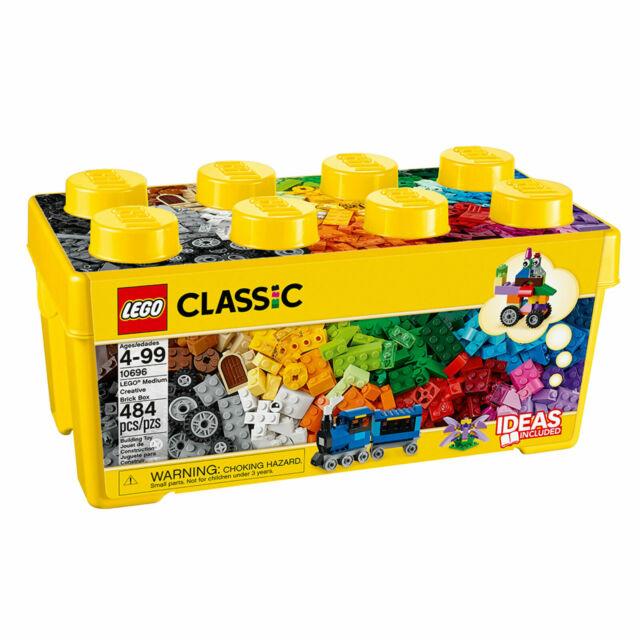 LEGO Classic Medium Creative Brick Box 10696 Building Toys (484 Pieces)