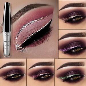 16Farben-Wasserdicht-Make-Up-Metallic-Lidschatten-Liquid-Eyeliner-Pen