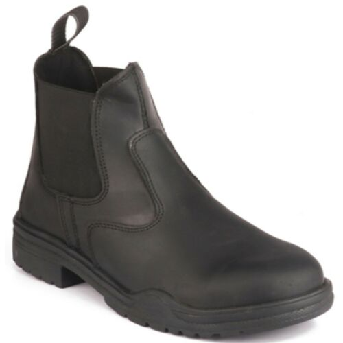 Ryder Short Horse Riding Boots Thick Rubber Sole Black Brown Jodhpur ALL UK SIZE