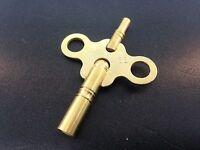 Clock Key Size 6/3 Brass Double End