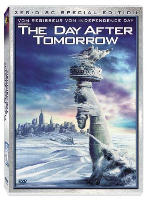The Day After Tomorrow - 2-er Disc Special Edition - Holo-Cover !Wie Nagelneu !!
