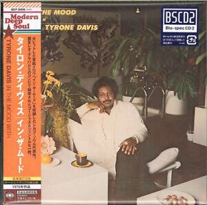 TYRONE-DAVIS-IN-THE-MOOD-WITH-JAPAN-MINI-LP-BLU-SPEC-CD2-Ltd-Ed-E51