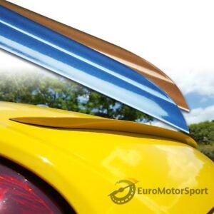 Fyralip Custom Painted Trunk Lip Spoiler S For Porsche Boxster 987 Conv 04-12