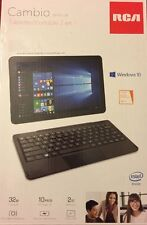 Brand New RCA  Cambio 2 in 1 Notebook/Tablet Windows 10 + MS Office