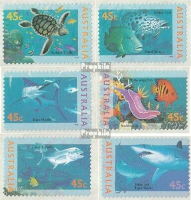 Motivated Australia 1517-1522 Never Hinged 1995 Unterwa complete.issue. Unmounted Mint