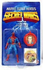 Marvel Secret Wars SPIDER-MAN action figure. MOC, Mattel, 1984.