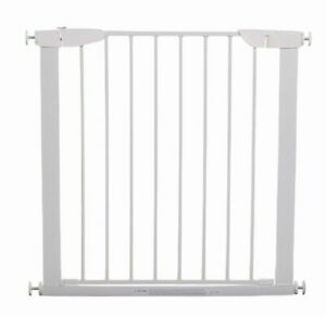 4Baby Safety Gate With 7cm Extension Included White