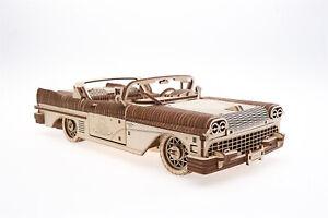 UGears Dream Cabriolet - Wooden Mechanical Model - 735 Pieces