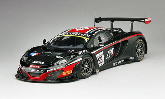 McLaren 12C Gt3  98 DNF 24h Spa 2014 Demoustier   Lapierre   Parente 1 18 Model