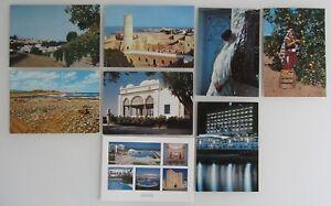 8x-TUNESIEN-Postkarten-Lot-ua-Mahdia-Tunis-Monastir-Cap-Bon-Hammamet-uvm