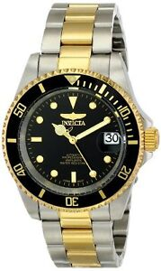 Invicta-Men-039-s-Pro-Diver-Automatic-200m-Two-Toned-Stainless-Steel-Watch-8927OB