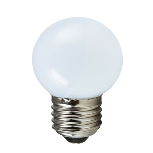 """DEL /""""Gouttes Lampe/"""" e27 230 v 1 W DECO Ampoules Ampoule pour guirlande électrique"""