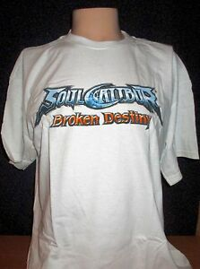 82006d7f8 Image is loading Soul-Calibur-Broken-Destiny-Promotional-Launch-T-Shirt-