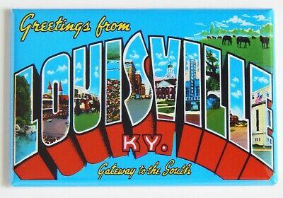 "Greetings from Kentucky Lake FRIDGE MAGNET travel souvenir /""style A/"""