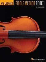 Hal Leonard Fiddle Method Violin Instruction Book 000311415