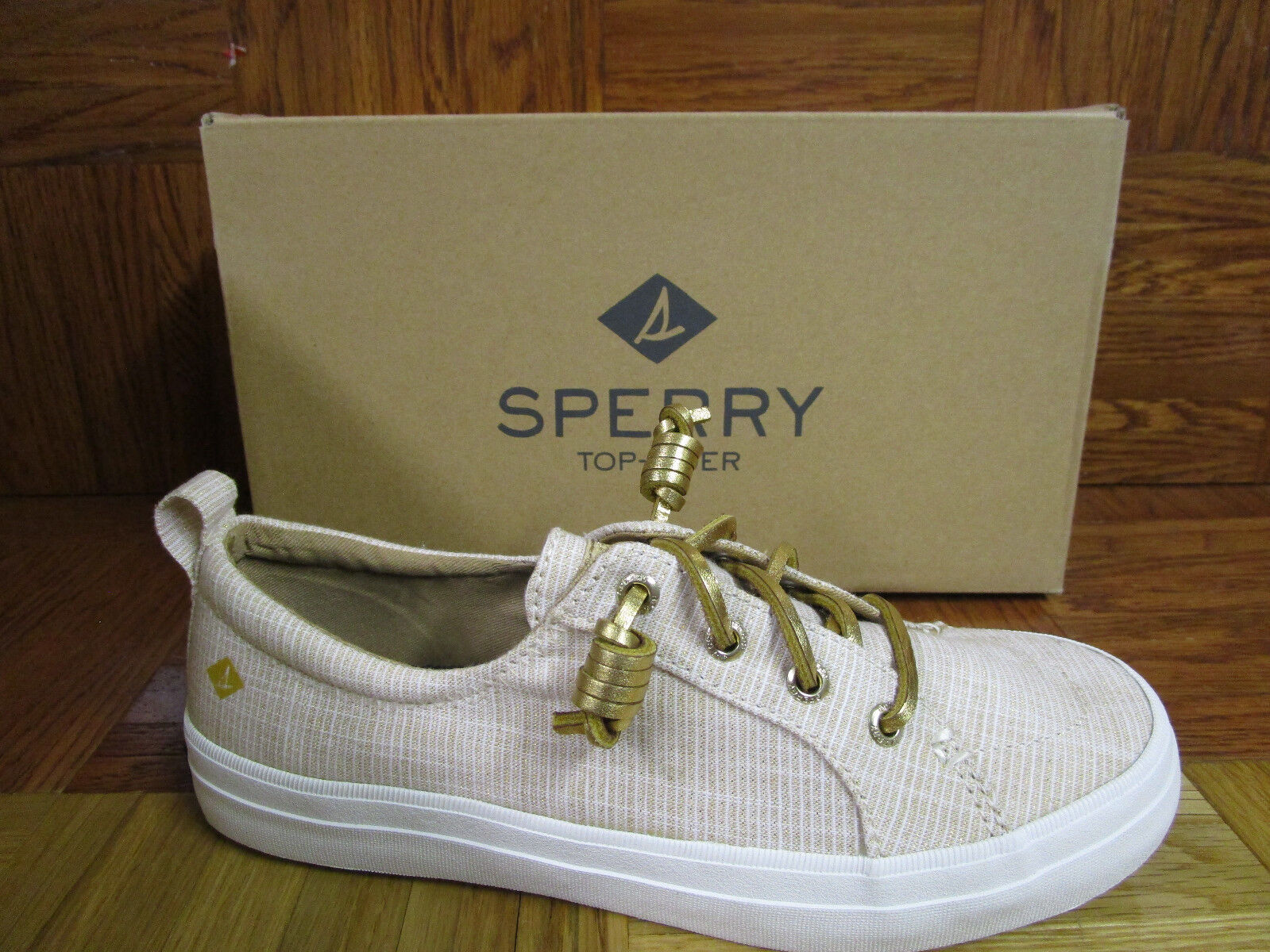 Sperry Top-Sider dahommes Crest Vibe Metallic or Fashion Baskets Taille 6 W
