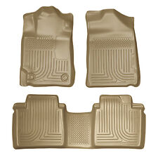 Husky Liners 2007-2011 Toyota Camry All Weather Floor Mats Tan Front and Rear