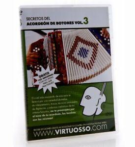 Virtuosso Curso De Acordeon De Botones DVD & CD Vol.3