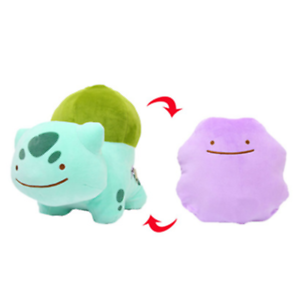 Pokemon bulbasaur transform ditto 9/' plush doll stuffed toy cushion pillow