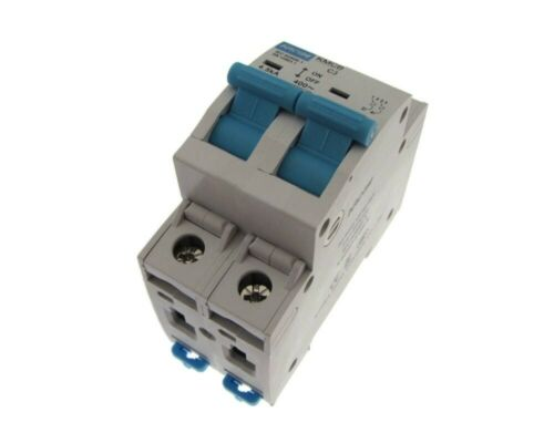 HQ KACON Double Pole AC220//380V 【10A】 Circuit Breaker Din rail mounting