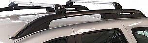 KIT COPPIA BARRE FREELINE PORTAPACCHI IN ALLUMINIO PER AUTO CON RAILING APERTI